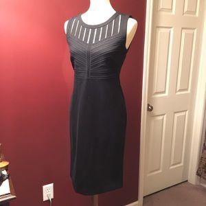 T Tahari Black Sheath Dress